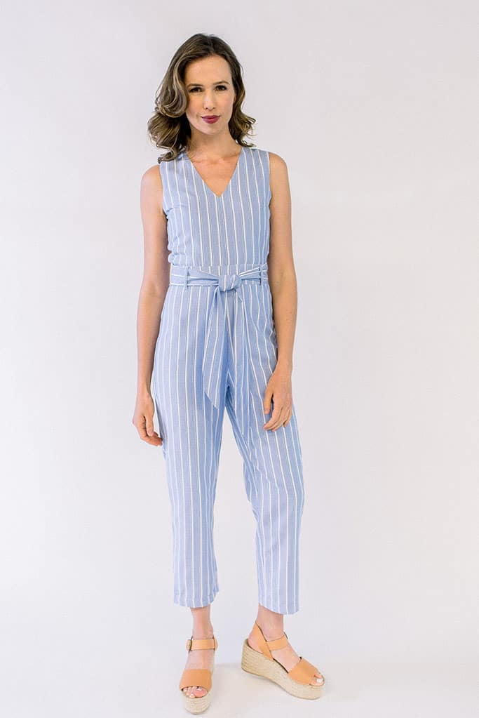 London Jumpsuit Striped