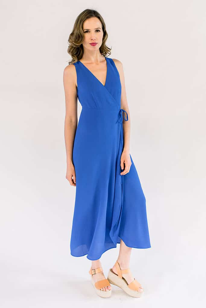 Eden Royal Blue Maxi Dress