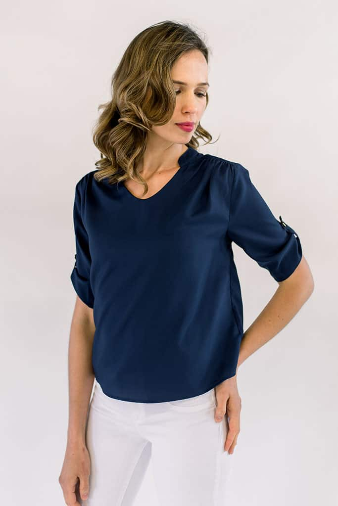 Harlow Top Navy