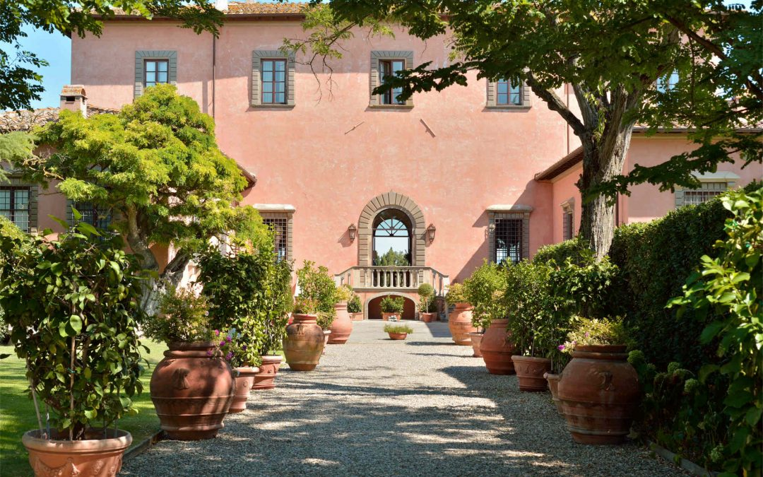 Get Swept Away at Villa Mangiacane Overlooking the Hills of Tuscany