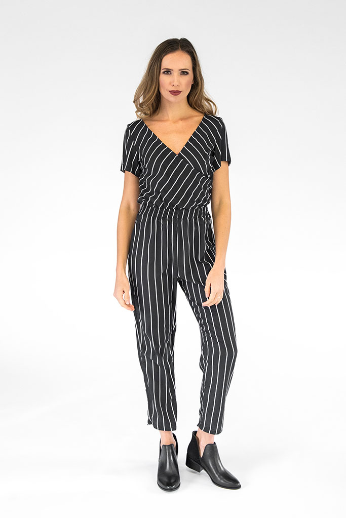 Ella Striped Jumpsuit