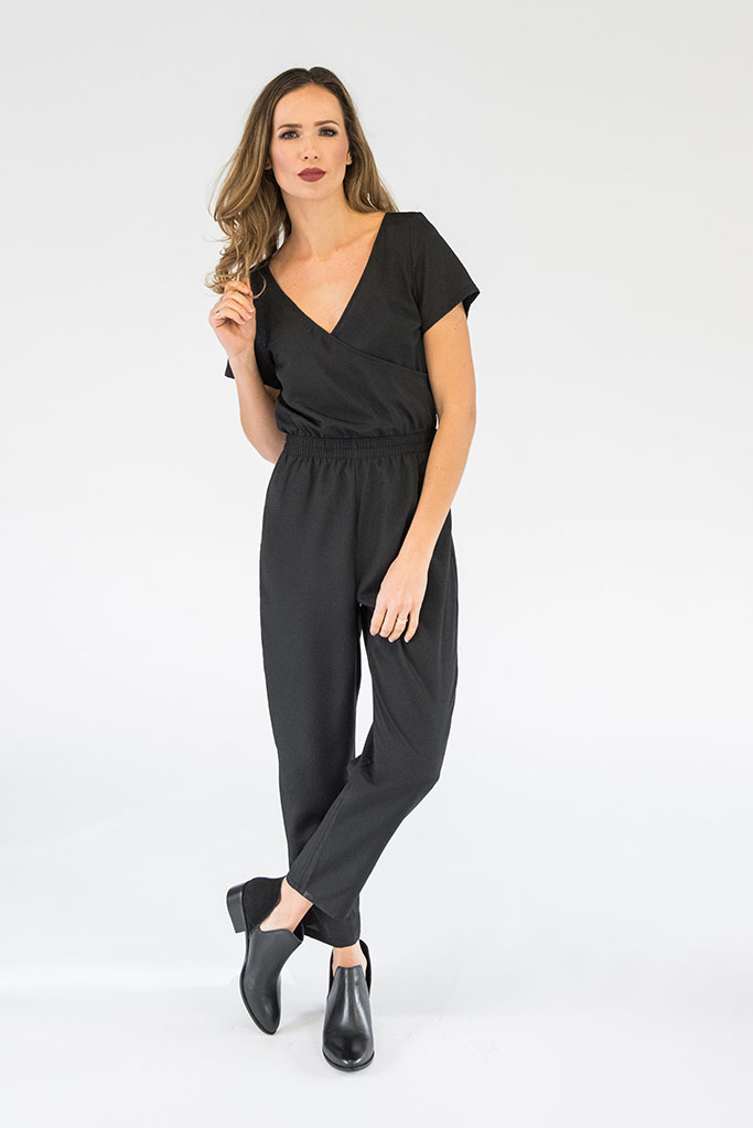 Ella Black Jumpsuit