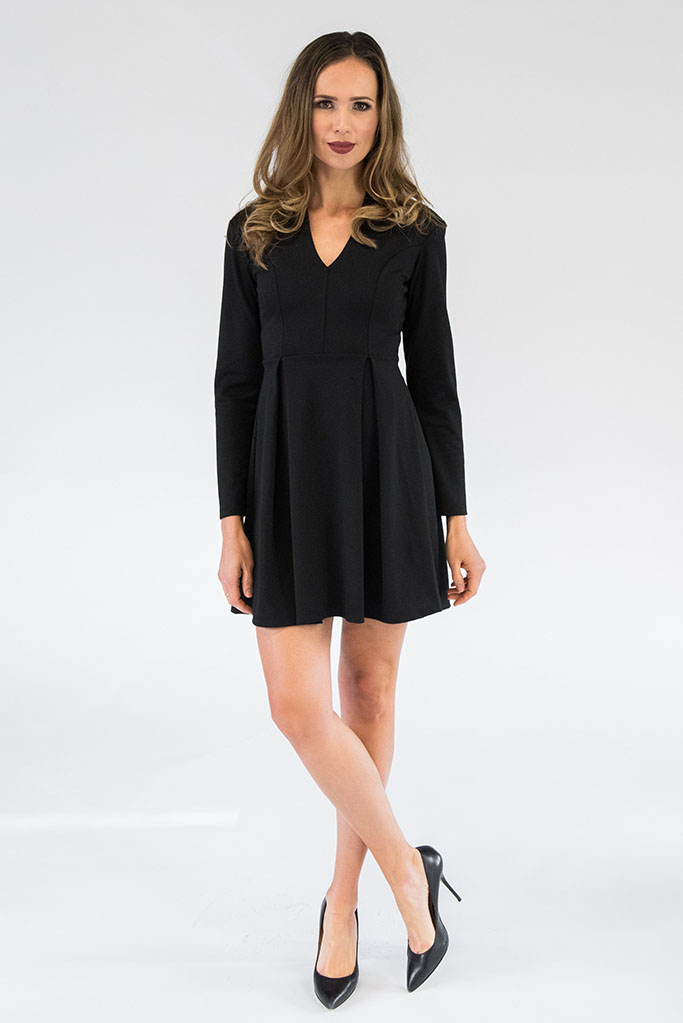 Black Campbell Dress